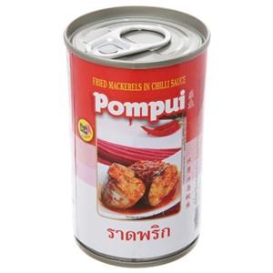 Cá thu chiên sốt tương ớt Pompui hộp 155g