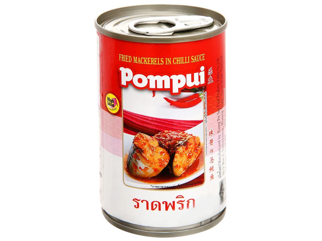 Cá thu chiên sốt tương ớt Pompui hộp 155g 7