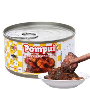 Cá thu chiên ớt Pompui hộp 90g