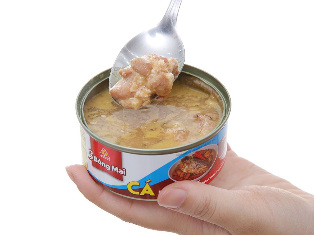 Cá kho thịt 3 Bông mai Vissan hộp 150g 4