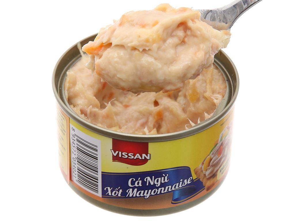 Cá ngừ xốt mayonnaise Vissan hộp 85g 5