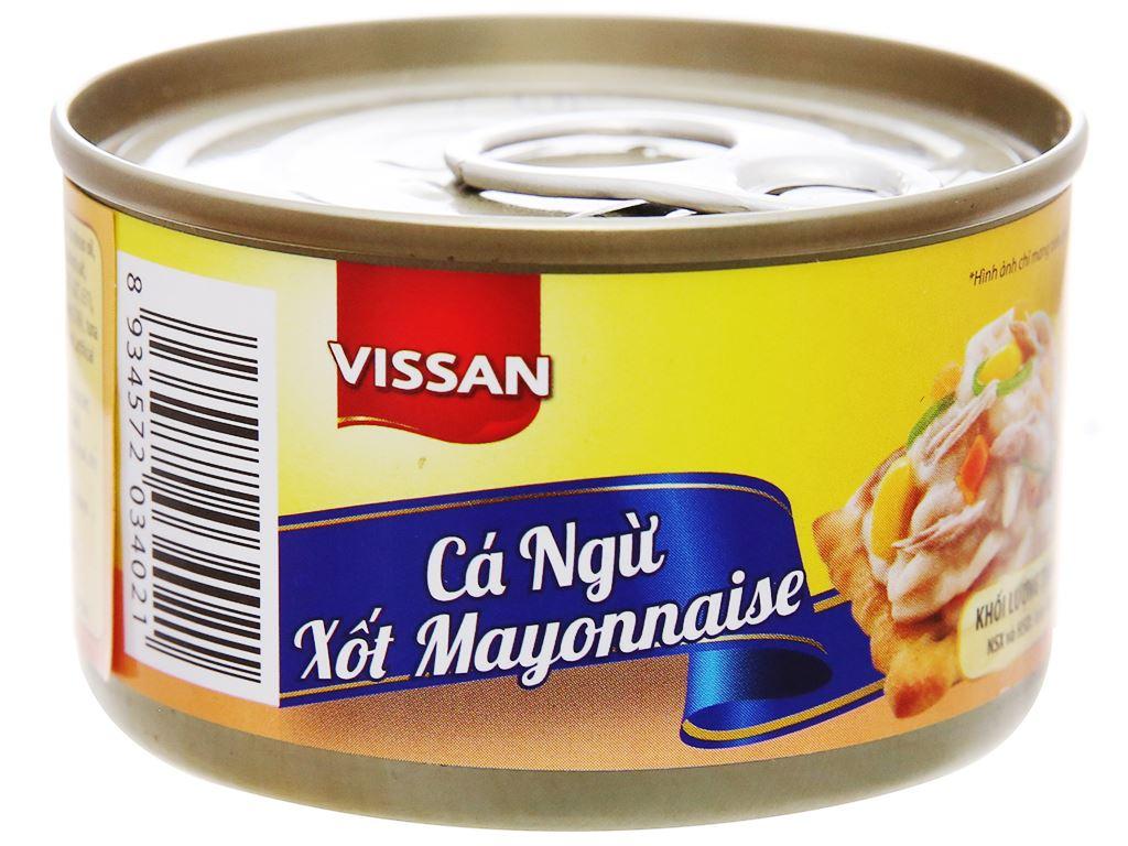 Cá ngừ xốt mayonnaise Vissan hộp 85g 2
