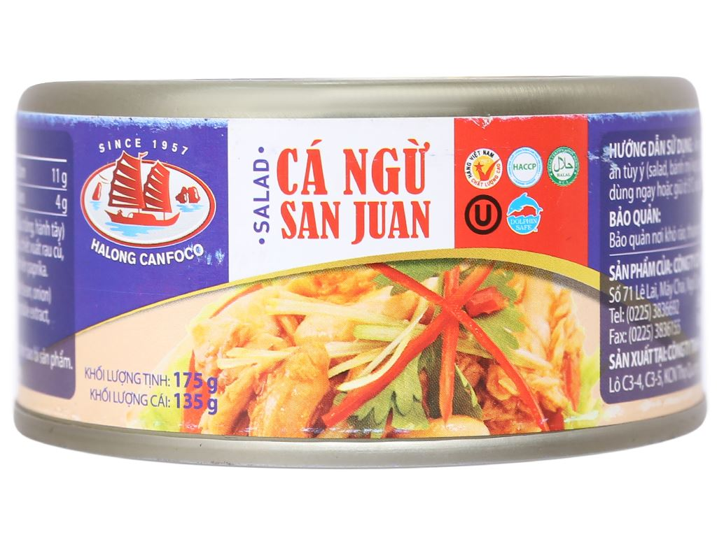 Salad cá ngừ San Juan Hạ Long hộp 175g 3