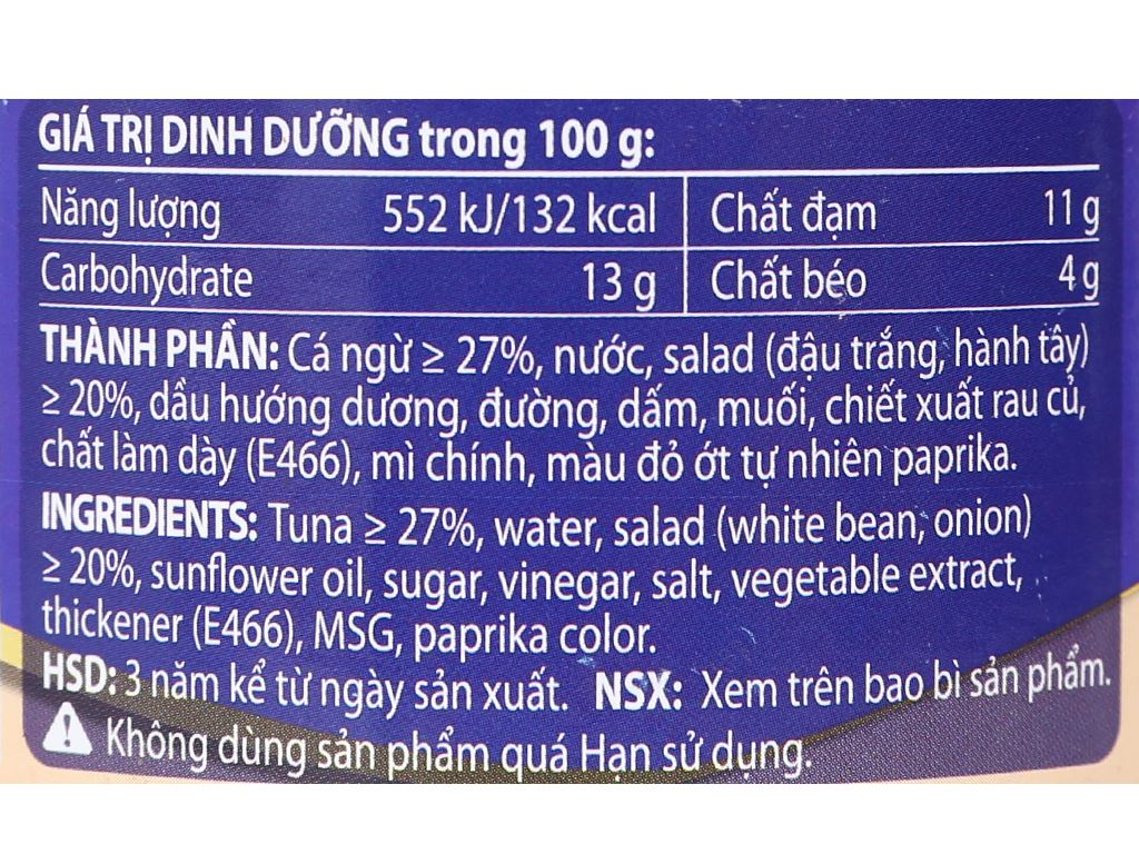 Salad cá ngừ San Juan Hạ Long hộp 175g 5