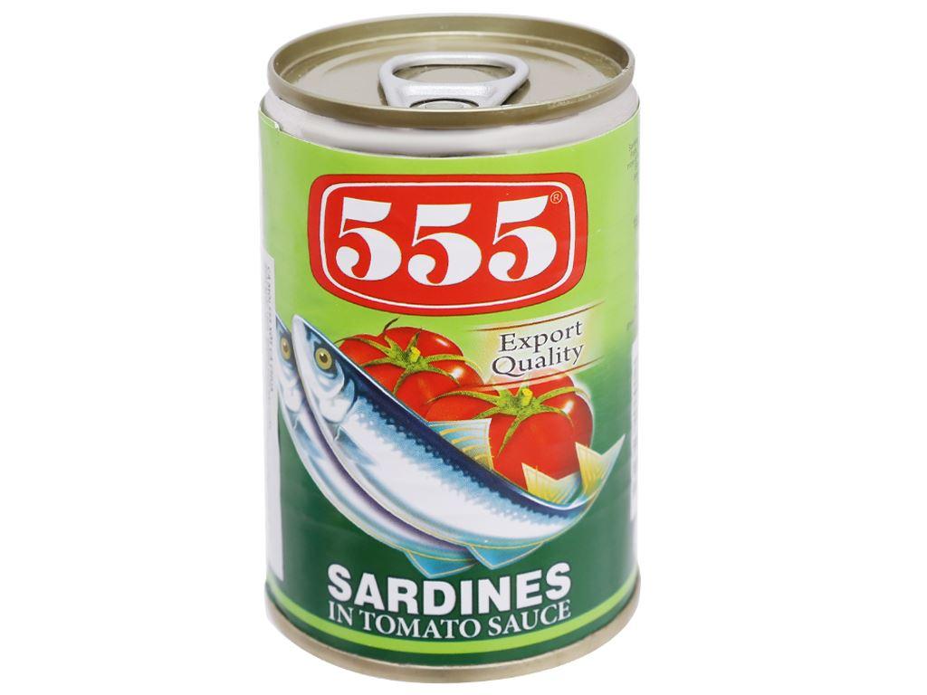 Cá mòi xốt cà chua 555 hộp 155g 1