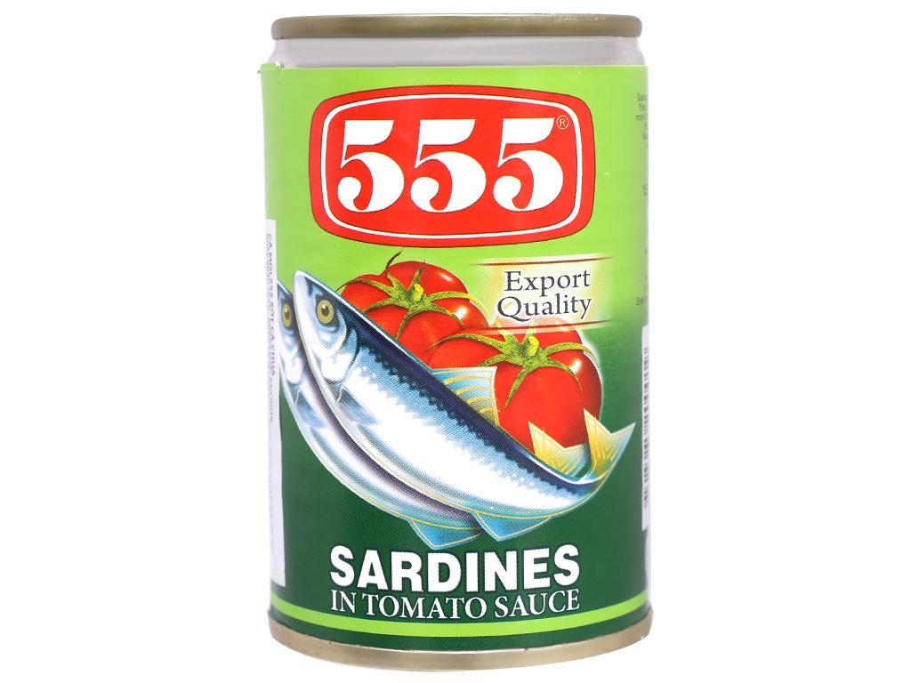 Cá mòi xốt cà chua 555 hộp 155g 2