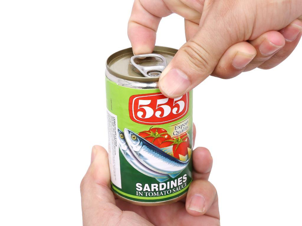Cá mòi xốt cà chua 555 hộp 155g 5