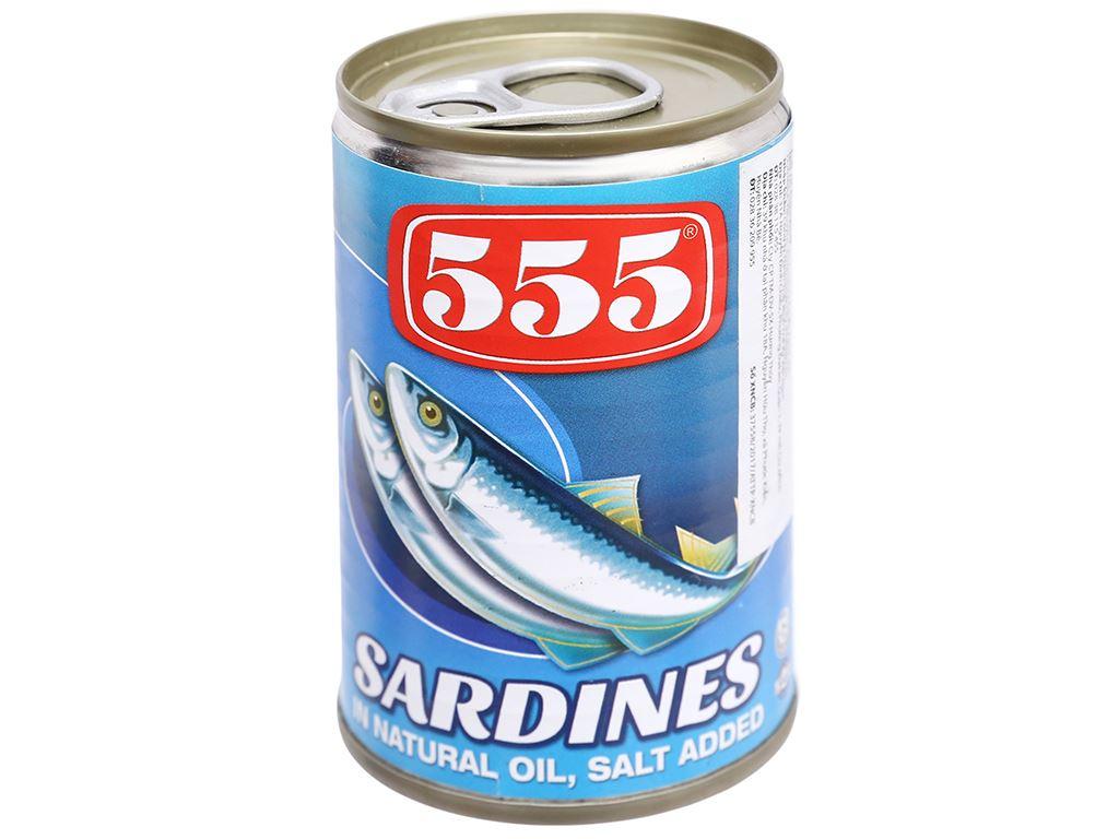 Cá mòi ngâm dầu 555 hộp 155g 2