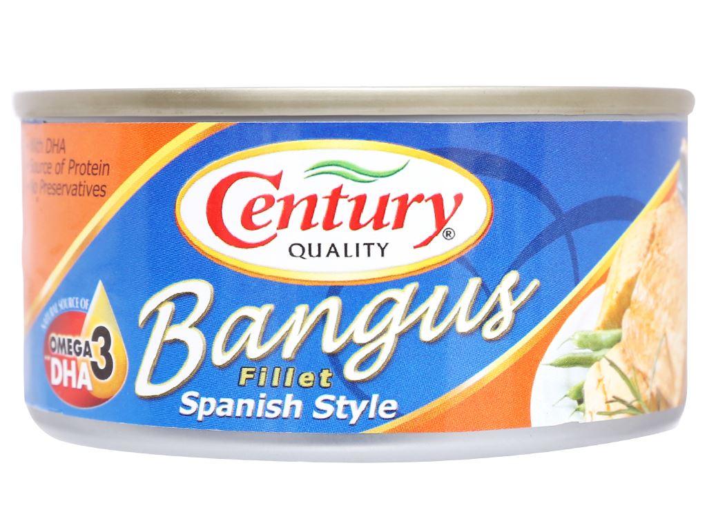 Cá măng sữa xốt Tây Ban Nha Bangus Century hộp 184g 3