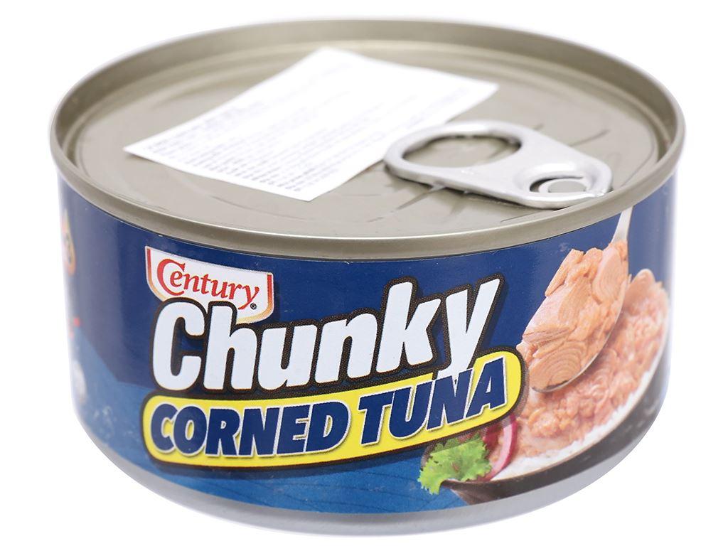 Cá ngừ khúc xốt gia vị Chunky Century hộp 180g 2