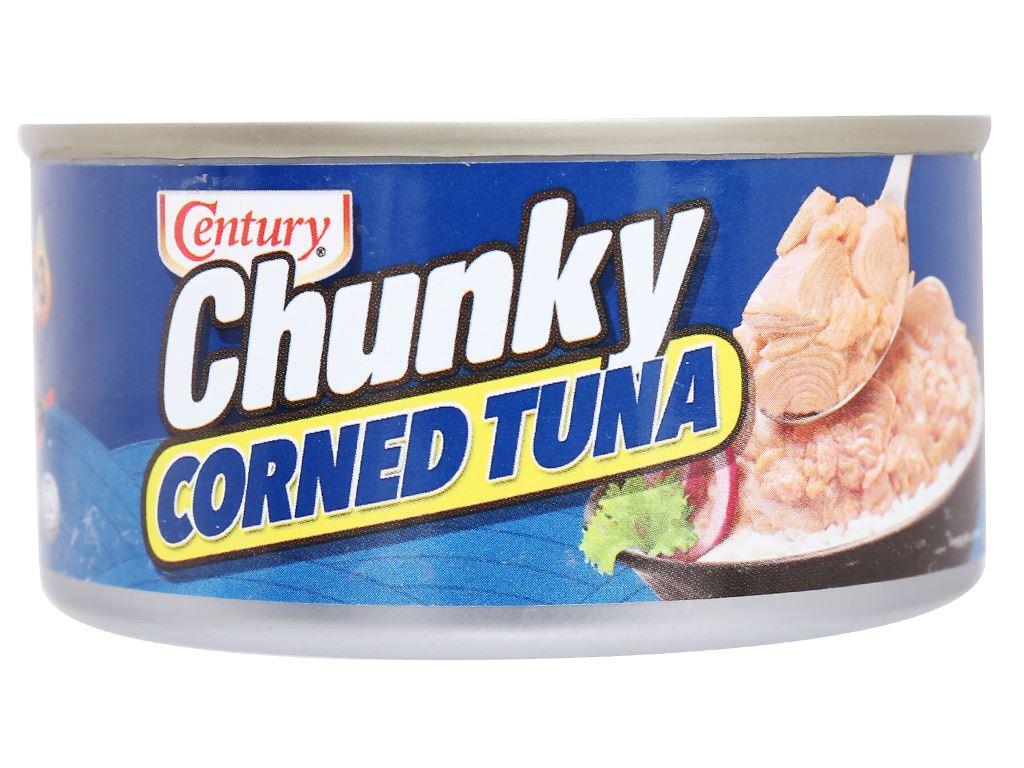 Cá ngừ khúc xốt gia vị Chunky Century hộp 180g 3