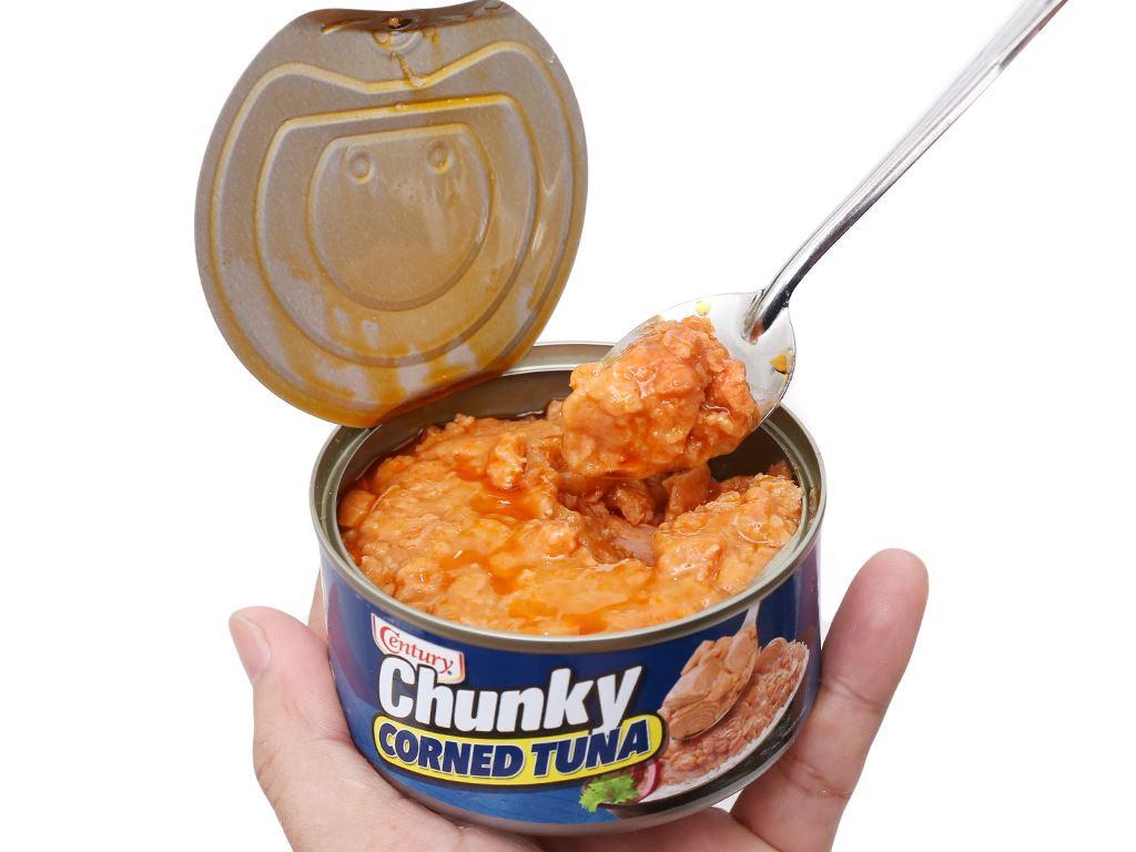 Cá ngừ khúc xốt gia vị Chunky Century hộp 180g 8