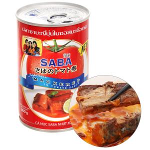 Cá saba Nhật xốt cà 3 Cô Gái hộp 300g