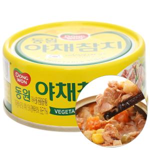Cá ngừ rau củ Dongwon lon 100g