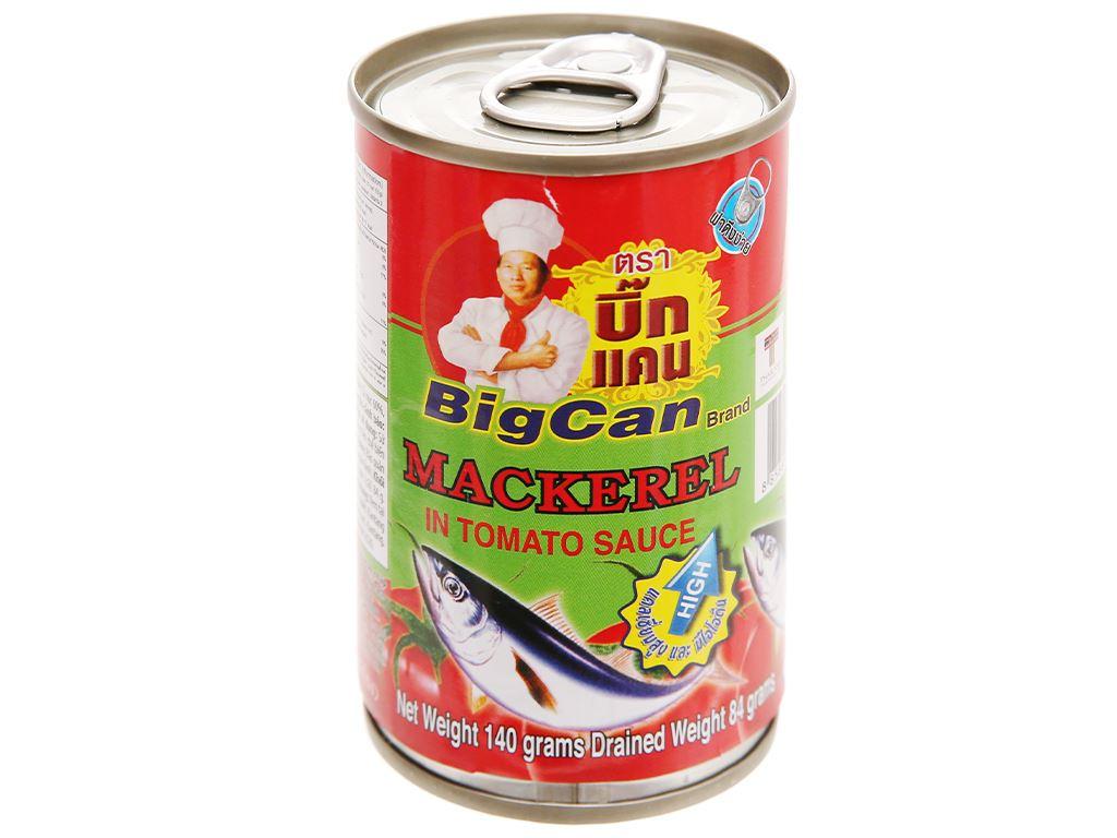 Cá nục sốt cà chua Bigcan lon 140g 1