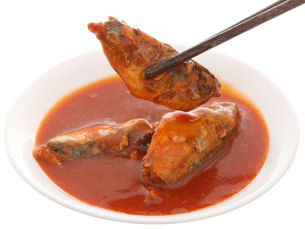 Cá nục sốt cà chua Bigcan lon 140g 6