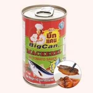 Cá nục sốt cà chua Bigcan lon 140g