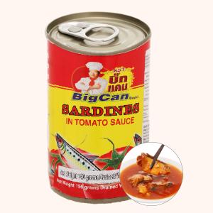 Cá mòi sốt cà chua Bigcan lon 155g