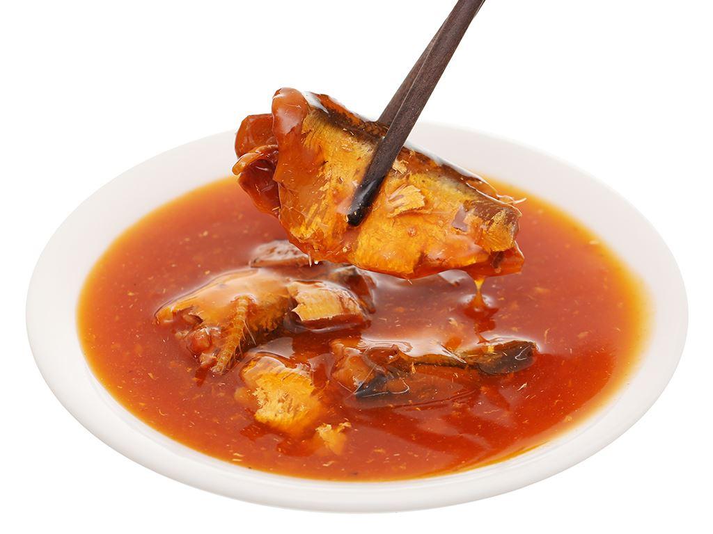 Cá mòi sốt cà chua Gold Brand lon 155g 7