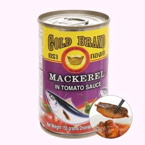 Cá nục sốt cà chua Gold Brand lon 155g