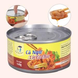 Cá ngừ xốt cà chua Tuna Việt Nam lon 140g