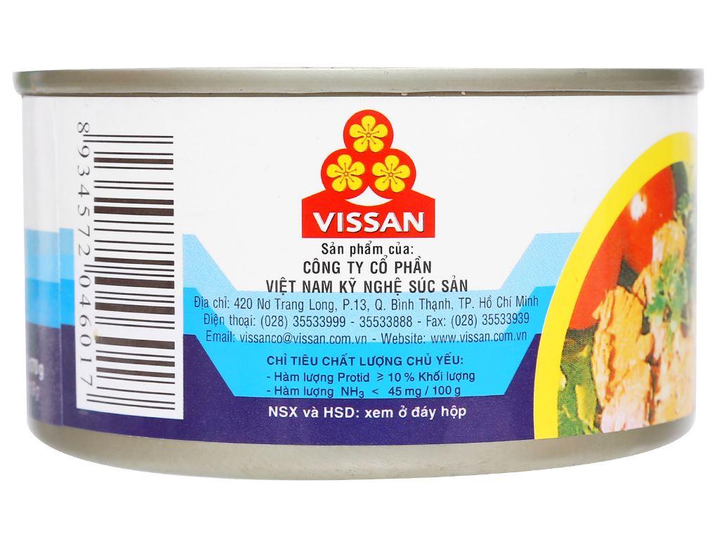 Cá ngừ xốt dầu Vissan hộp 170g 5