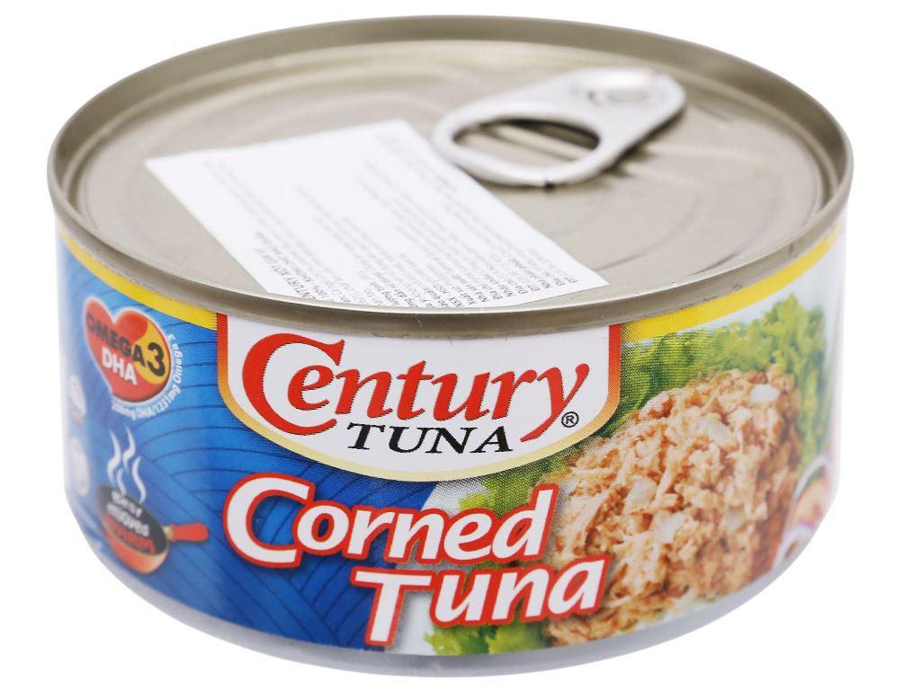Cá ngừ lát xốt gia vị Century hộp 180g 2