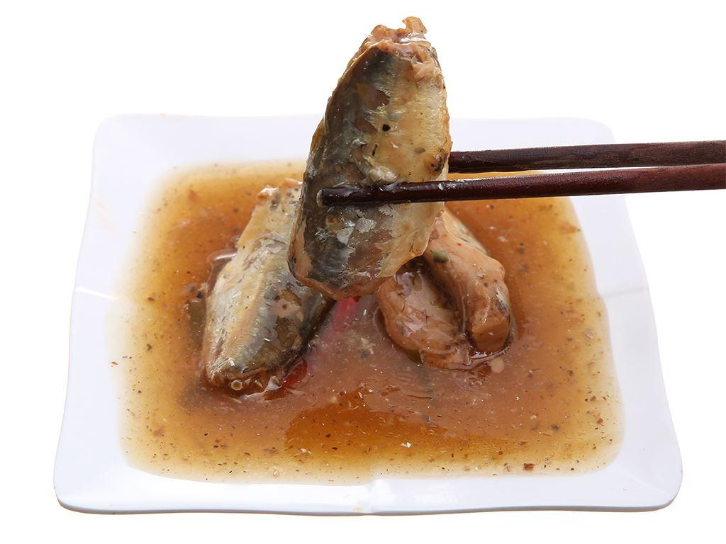 Cá nục kho tiêu Sea Crown hộp 155g 5