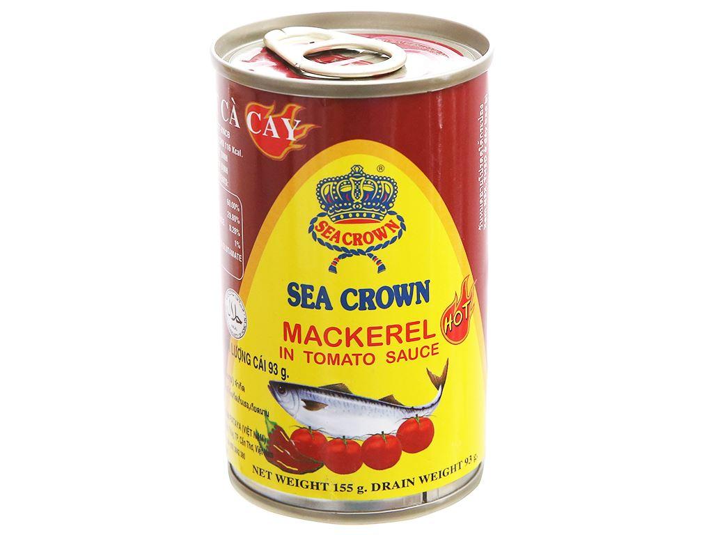 Cá nục sốt cà vị cay Sea Crown hộp 155g 1
