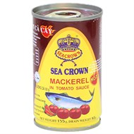 Cá nục sốt cà cay Sea Crown 155g