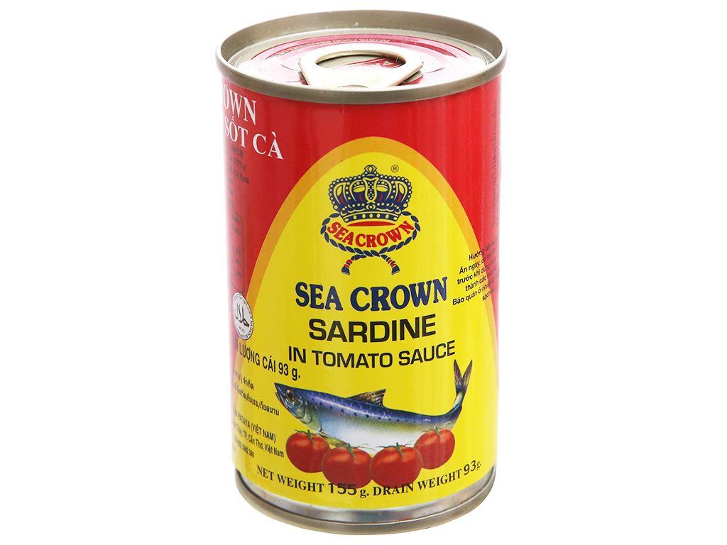 Cá trích sốt cà Sea Crown hộp 155g 1