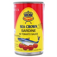 Cá trích sốt cà cay Sea Crown 155g