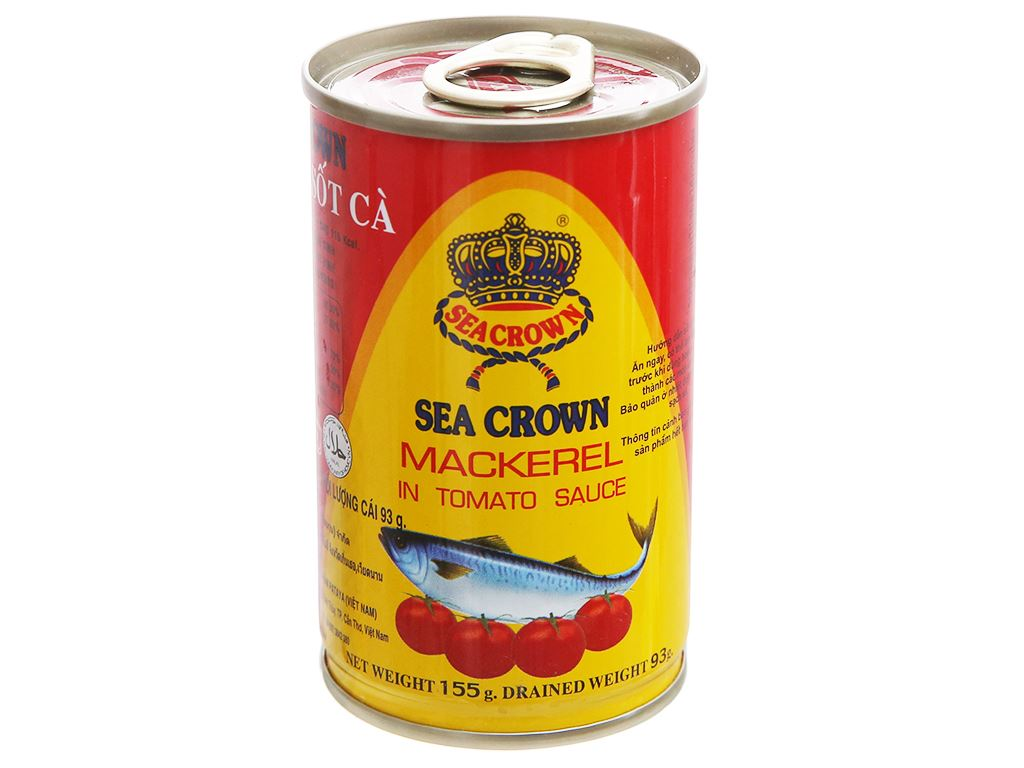 Cá nục sốt cà Sea Crown hộp 155g 1