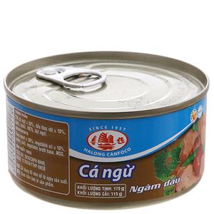 Cá ngừ ngâm dầu Hạ Long hộp 175g