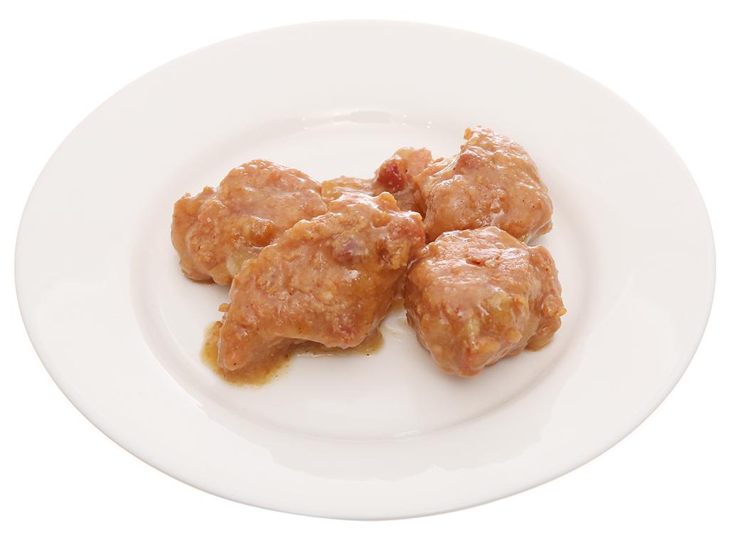 Thịt heo viên 3 phút Heo Cao Bồi Masan hộp 200g 5