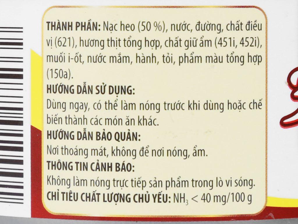Thịt heo hầm 3 Bông Mai Vissan hộp 150g 8