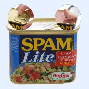 Thịt heo Spam Lite Hormel Foods hộp 340g