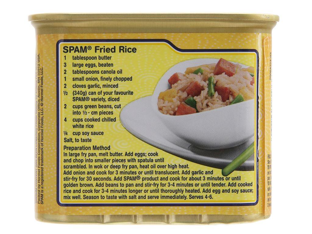 Thịt heo ít muối Hormel Foods hộp 340g 2