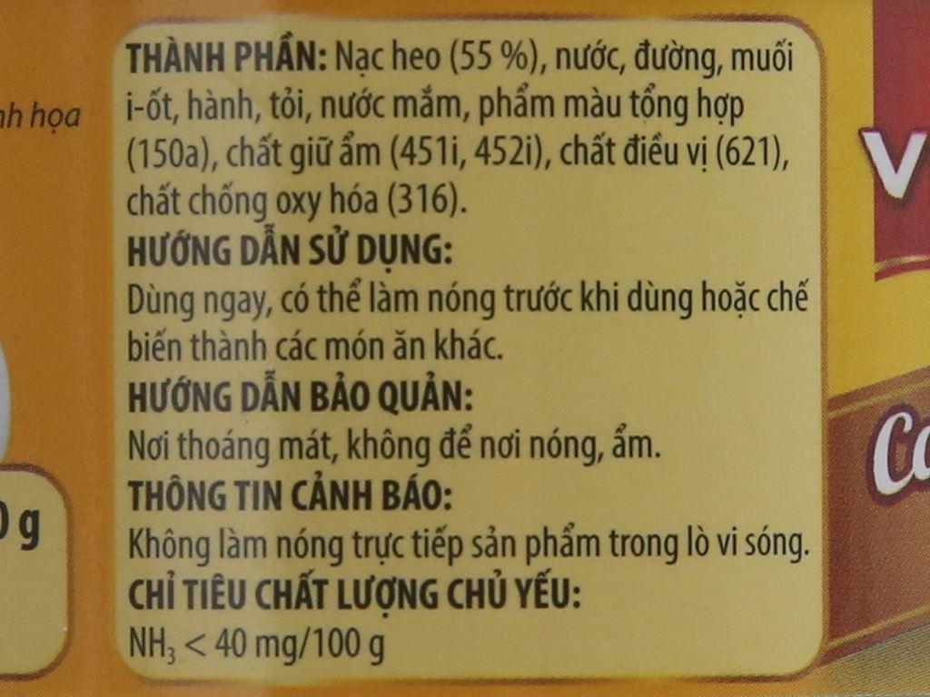 Thịt heo hầm Vissan hộp 150g 3