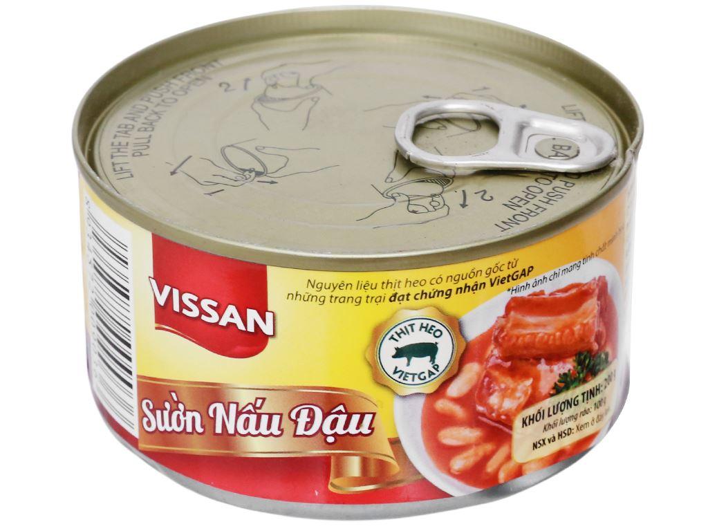 Sườn nấu đậu Vissan hộp 200g 6