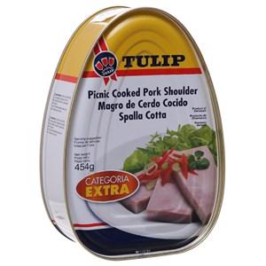 Thịt vai heo Picnic Shoulder Categoria Extra Tulip hộp 454g