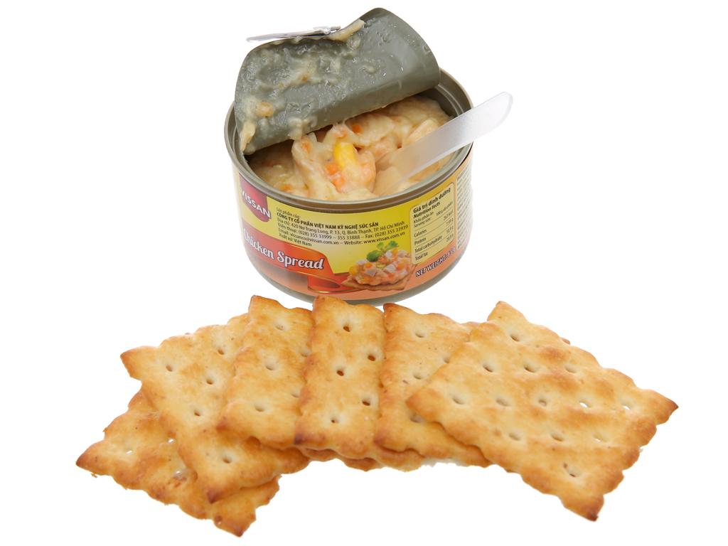 Thịt gà xốt mayonnaise và bánh cracker Happy Meal Vissan hộp 110g 7