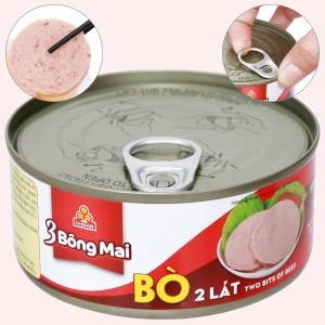 Bò hai lát 3 Bông Mai Vissan hộp 150g