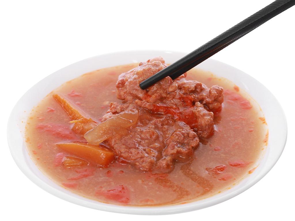 Bò kho Vissan hộp 200g 12
