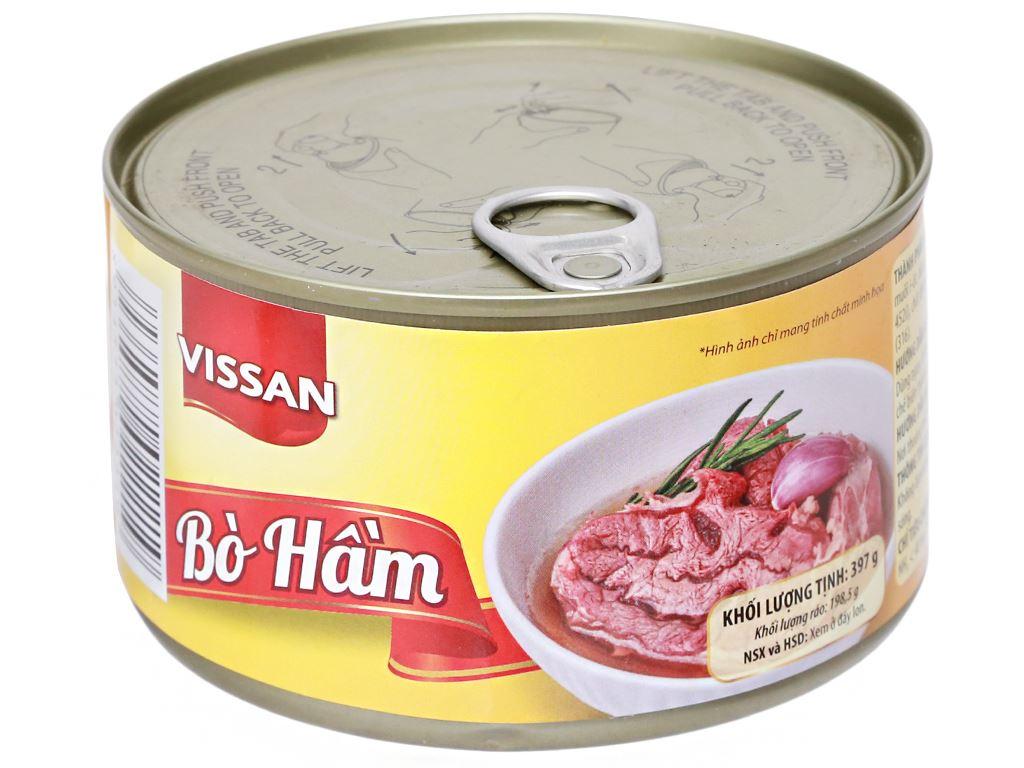 Bò hầm Vissan hộp 397g 7
