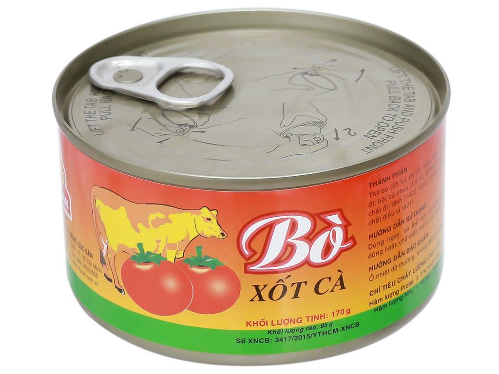 Bò xốt cà Vissan hộp 170g 6