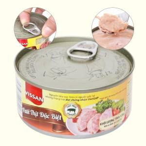 Pate thịt heo đặc biệt Vissan gói 170g