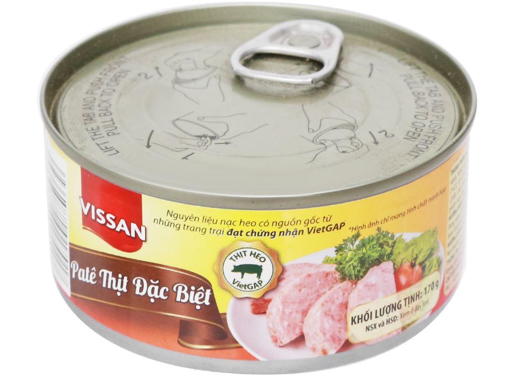 Pate thịt đặc biệt Vissan hộp 170g 5