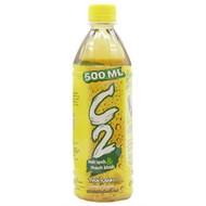 Nước giải khát C2 Trà Xanh hương Chanh chai 500ml