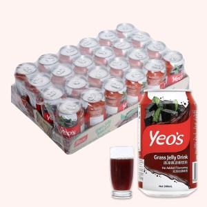 24 lon nước sương sáo Yeo's 300ml